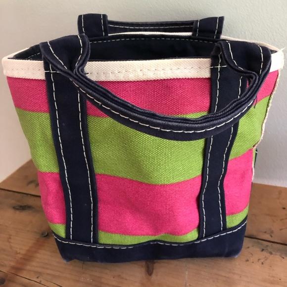 L.L. Bean Handbags - Ll Bean Boat N Tote Mini Bag